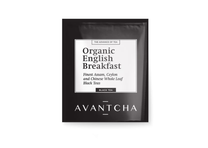 AVANTCHA | Organic English Breakfast Silk Teabag
